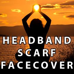 Headband Scarf Face Cover