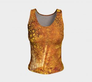 luminous fitted tank top