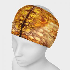 Luminous headband face covering scarf