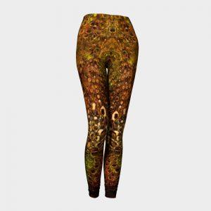 citra art printed leopard leggings